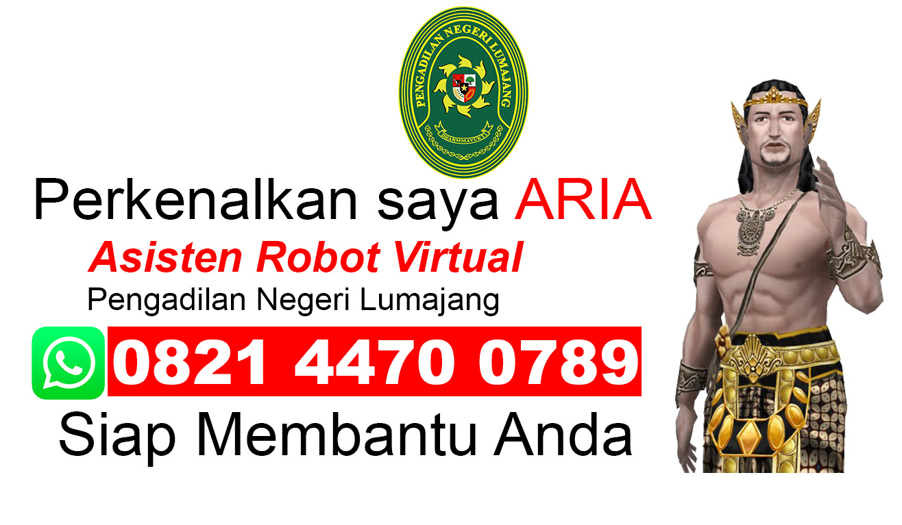 ARIA ( Asisten Robot Virtual)