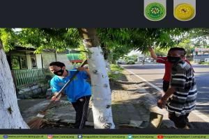 Jum'at Bersih Lingkungan Rumah Dinas