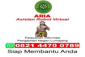 ARIA ( Asisten Robot Virtual)