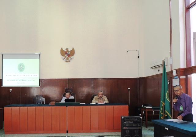 Rapat Pleno 17 Oktober 2018